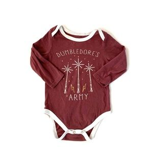 Harry Potter Baby Graphic Onesie
